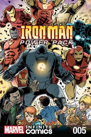 Iron Man and Power Pack #5