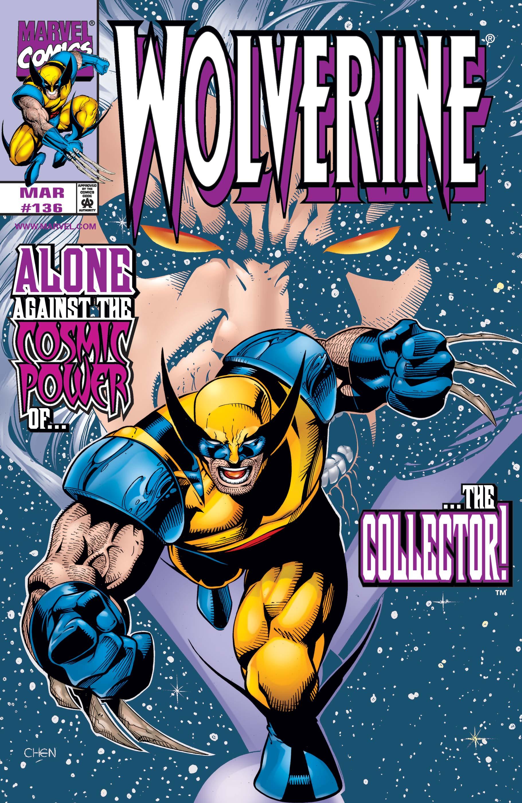Wolverine (1988) #136
