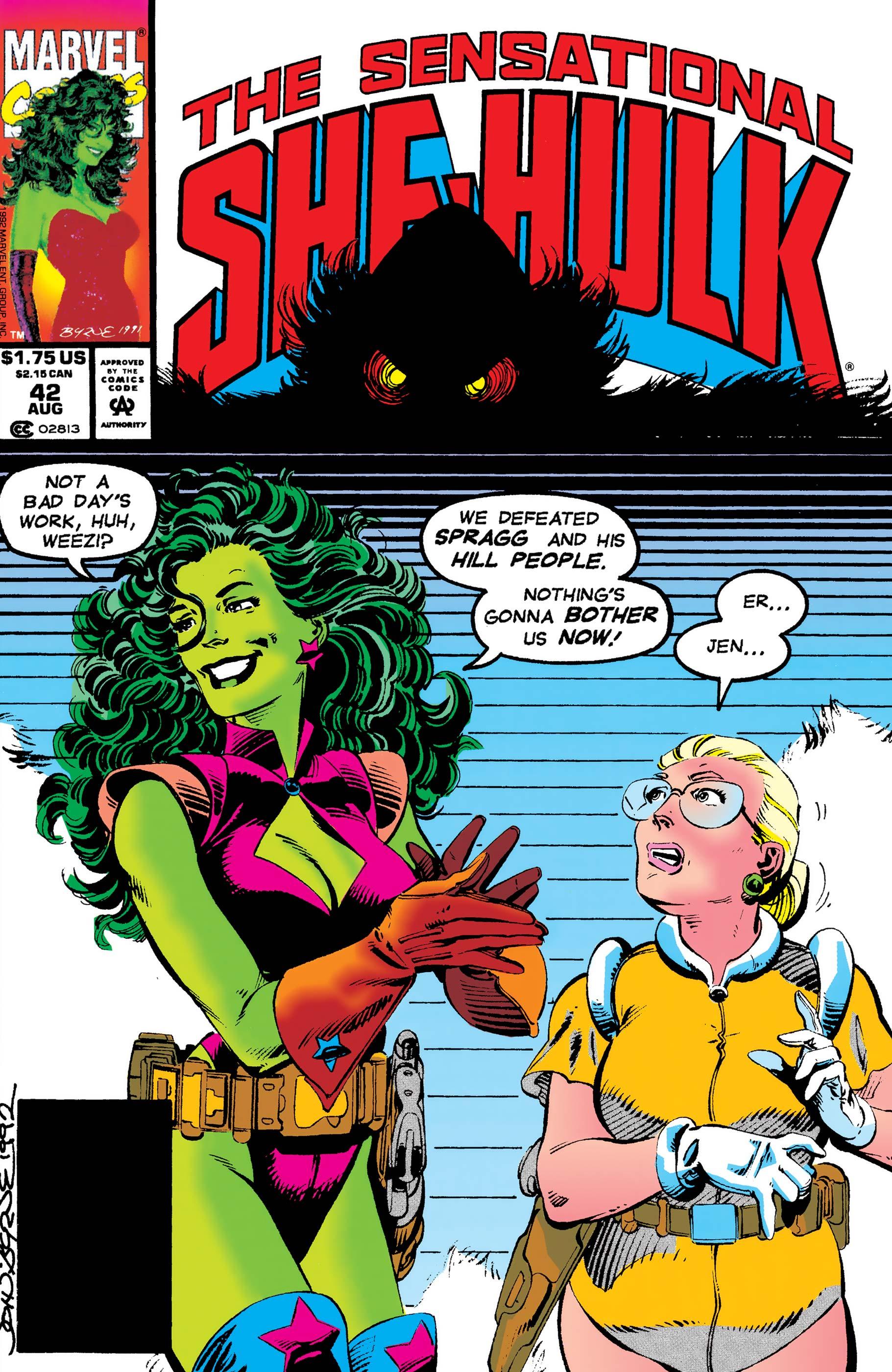 Sensational She-Hulk (1989) #42