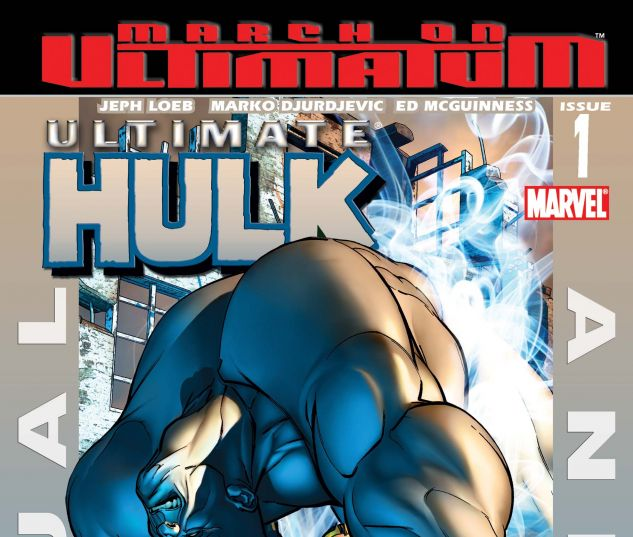 ULTIMATE HULK ANNUAL (2008) #1
