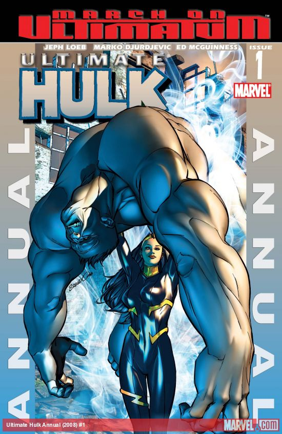 Ultimate Hulk Annual (2008) #1
