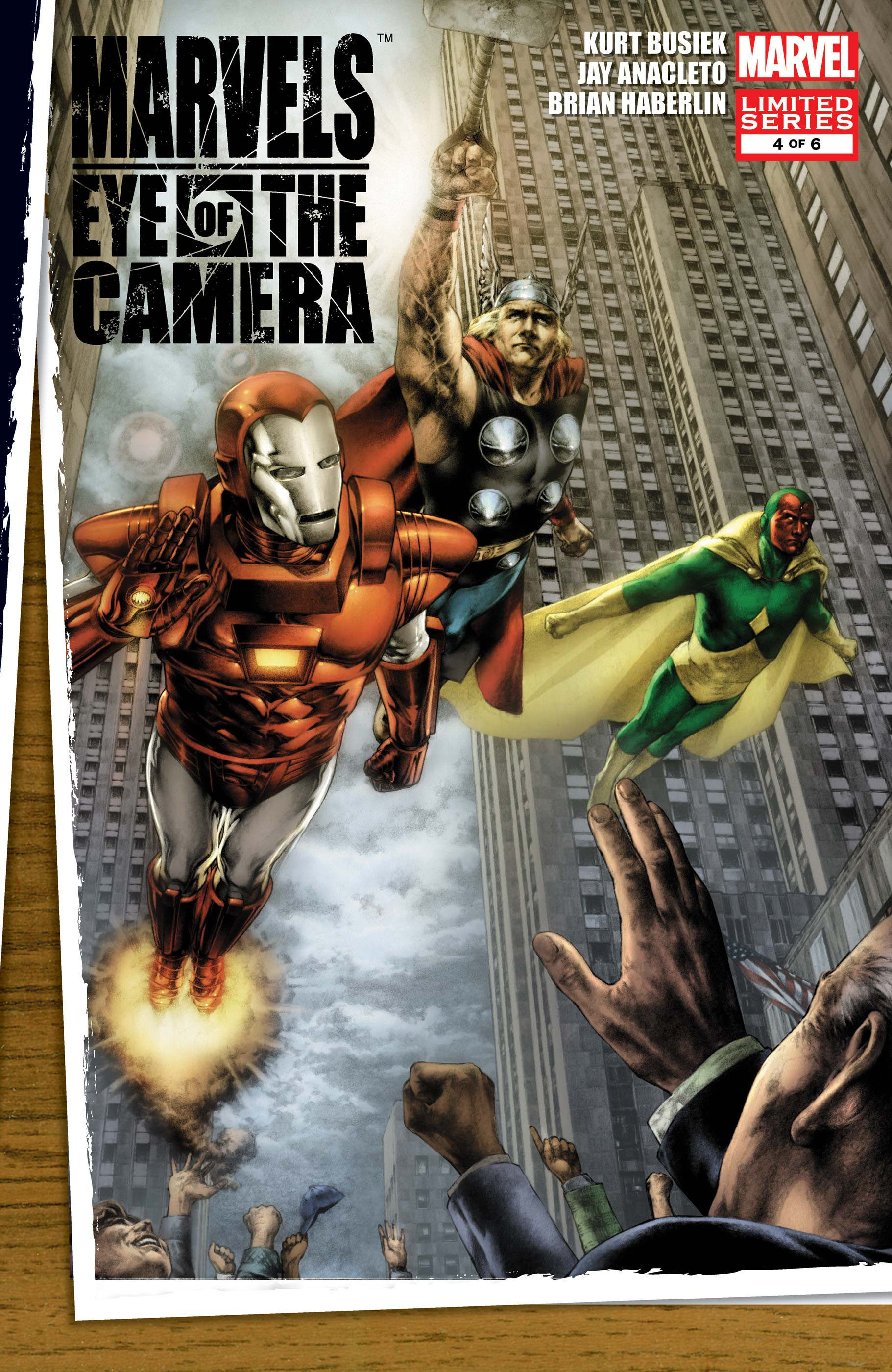 Marvels: Eye of the Camera (2008) #4