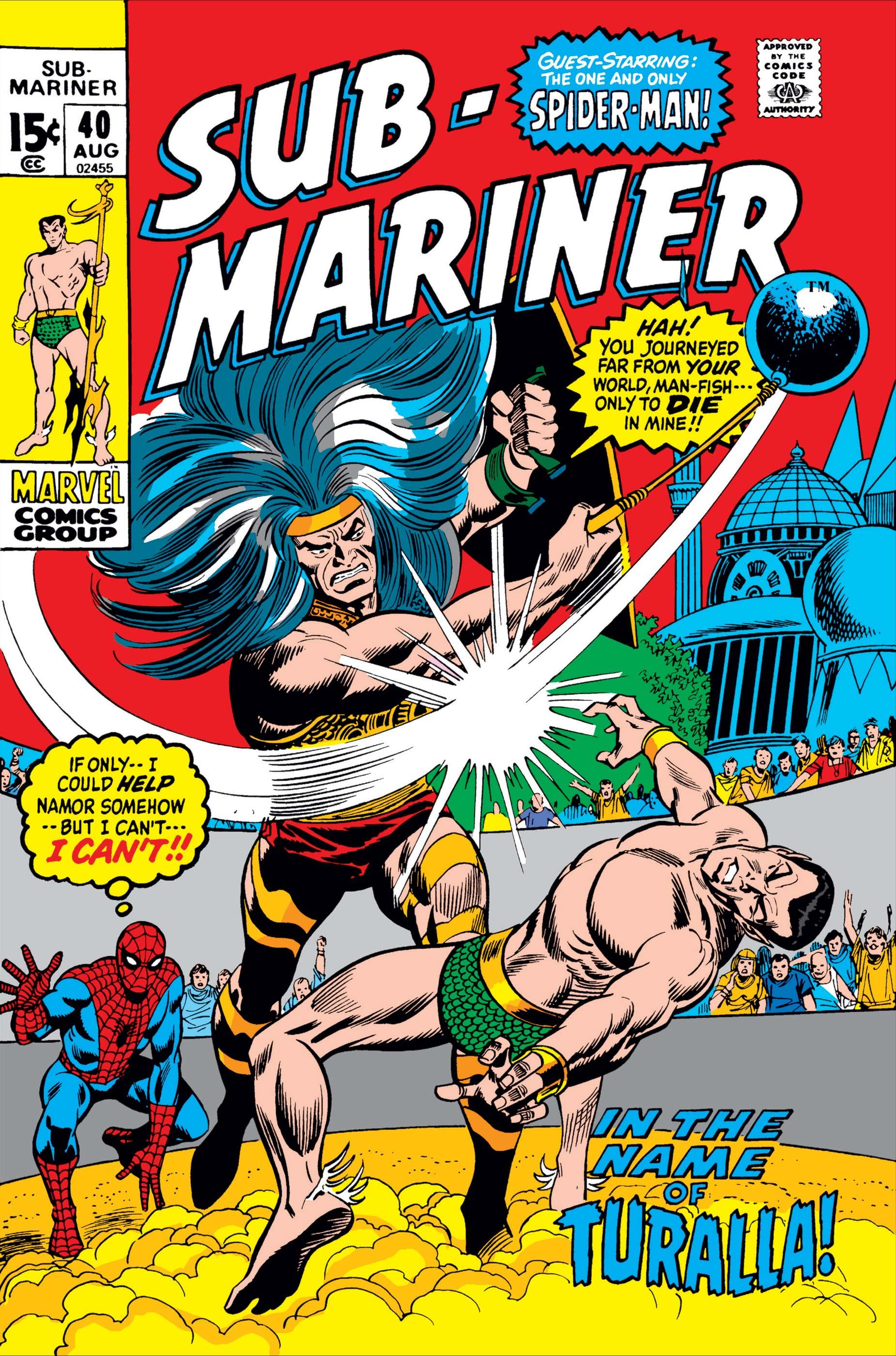 Sub-Mariner (1968) #40