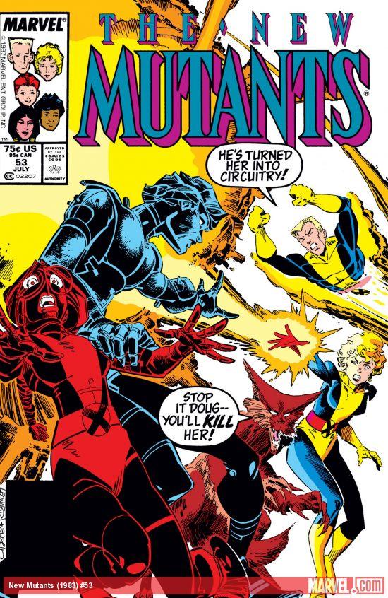 New Mutants (1983) #53