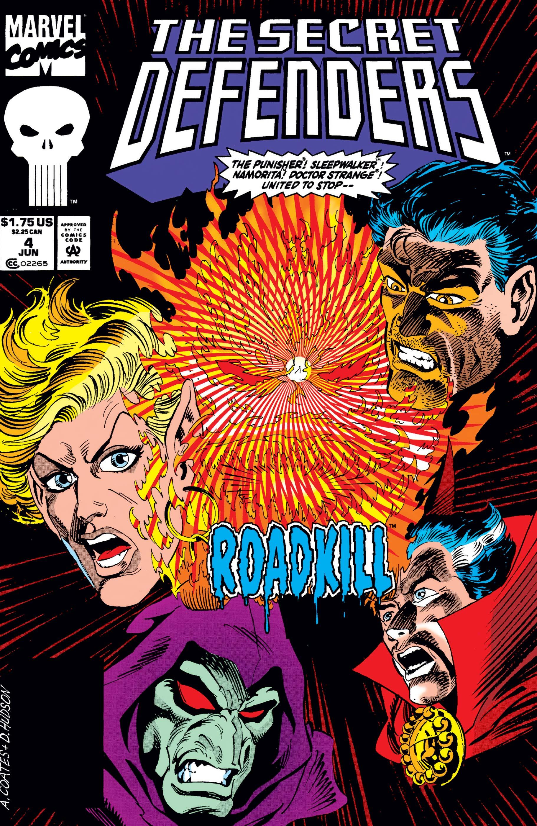 Secret Defenders (1993) #4
