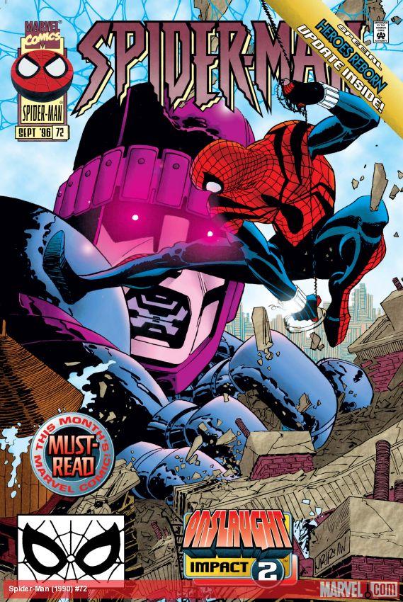 Spider-Man (1990) #72