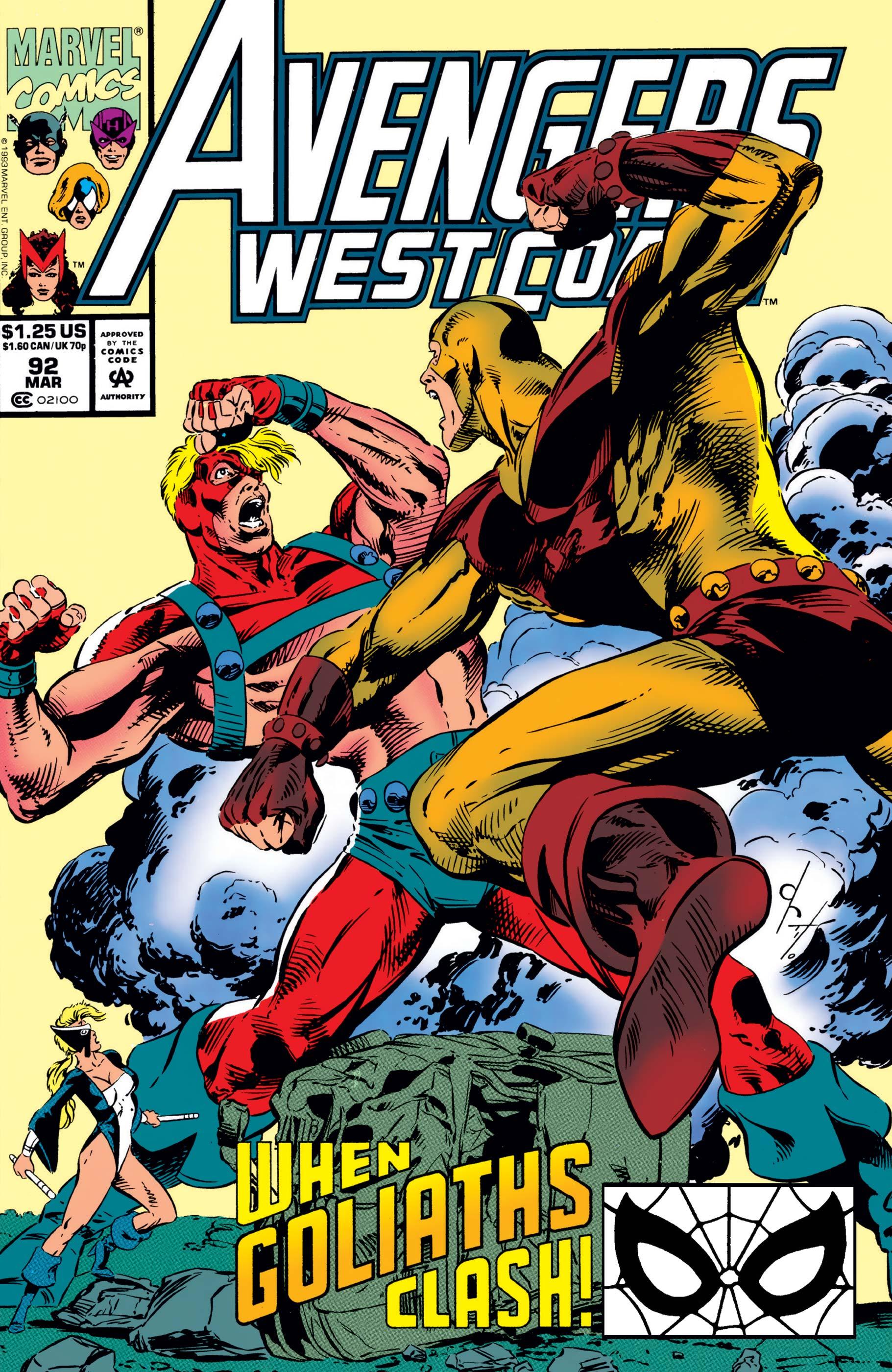 West Coast Avengers (1985) #92