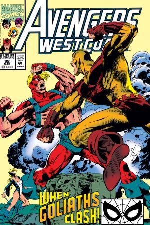 West Coast Avengers #92