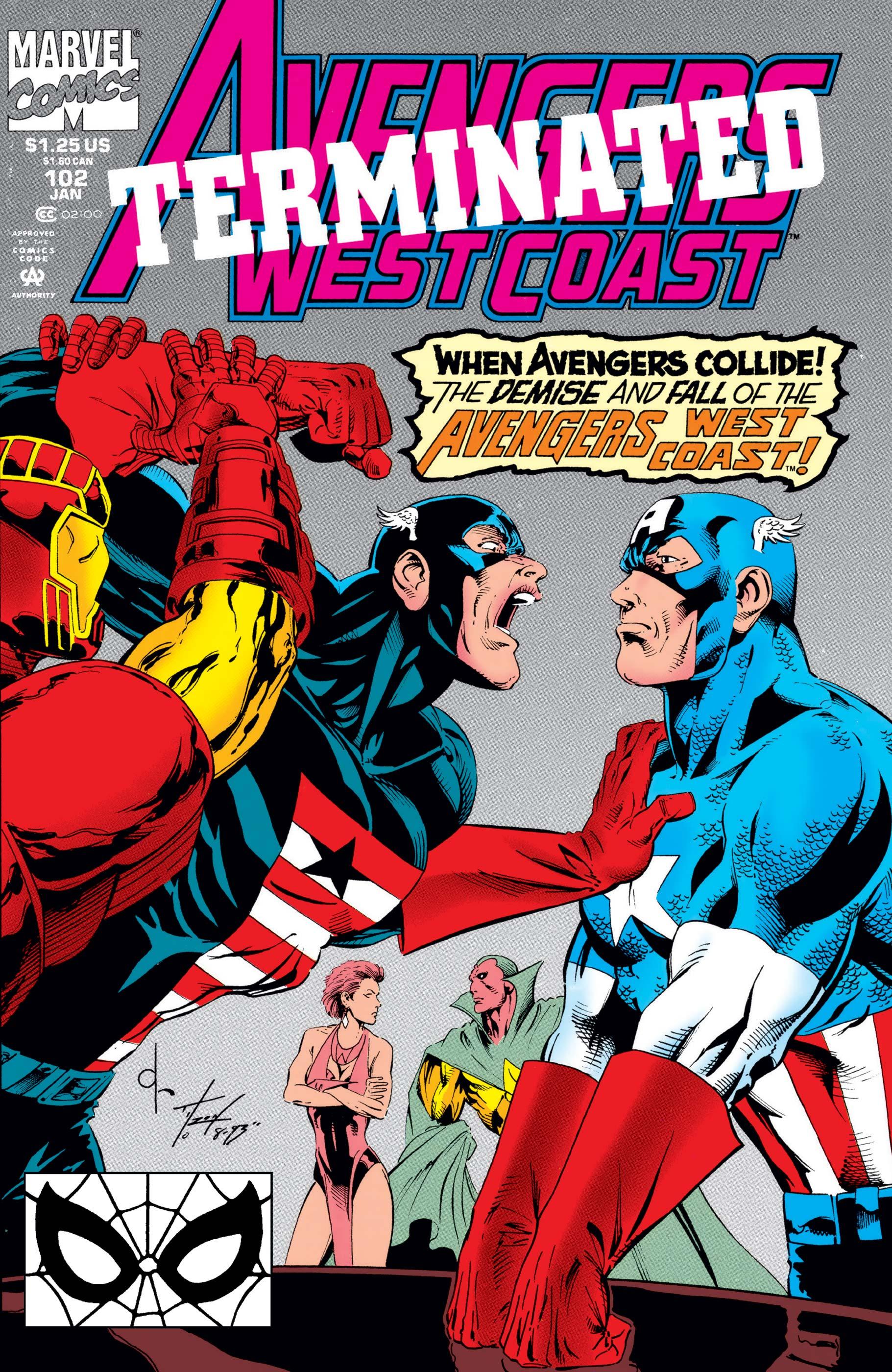 West Coast Avengers (1985) #102