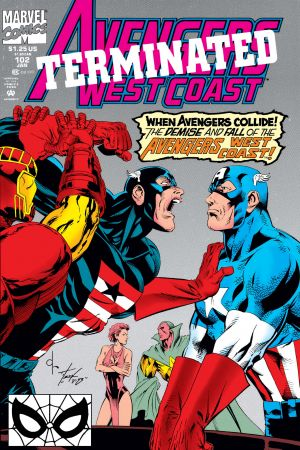 West Coast Avengers #102