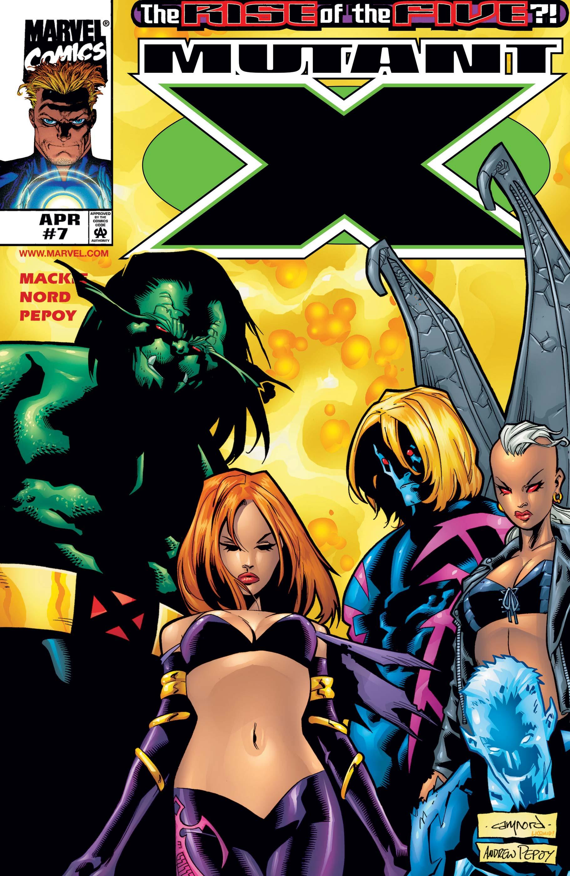 Mutant X (1998) #7