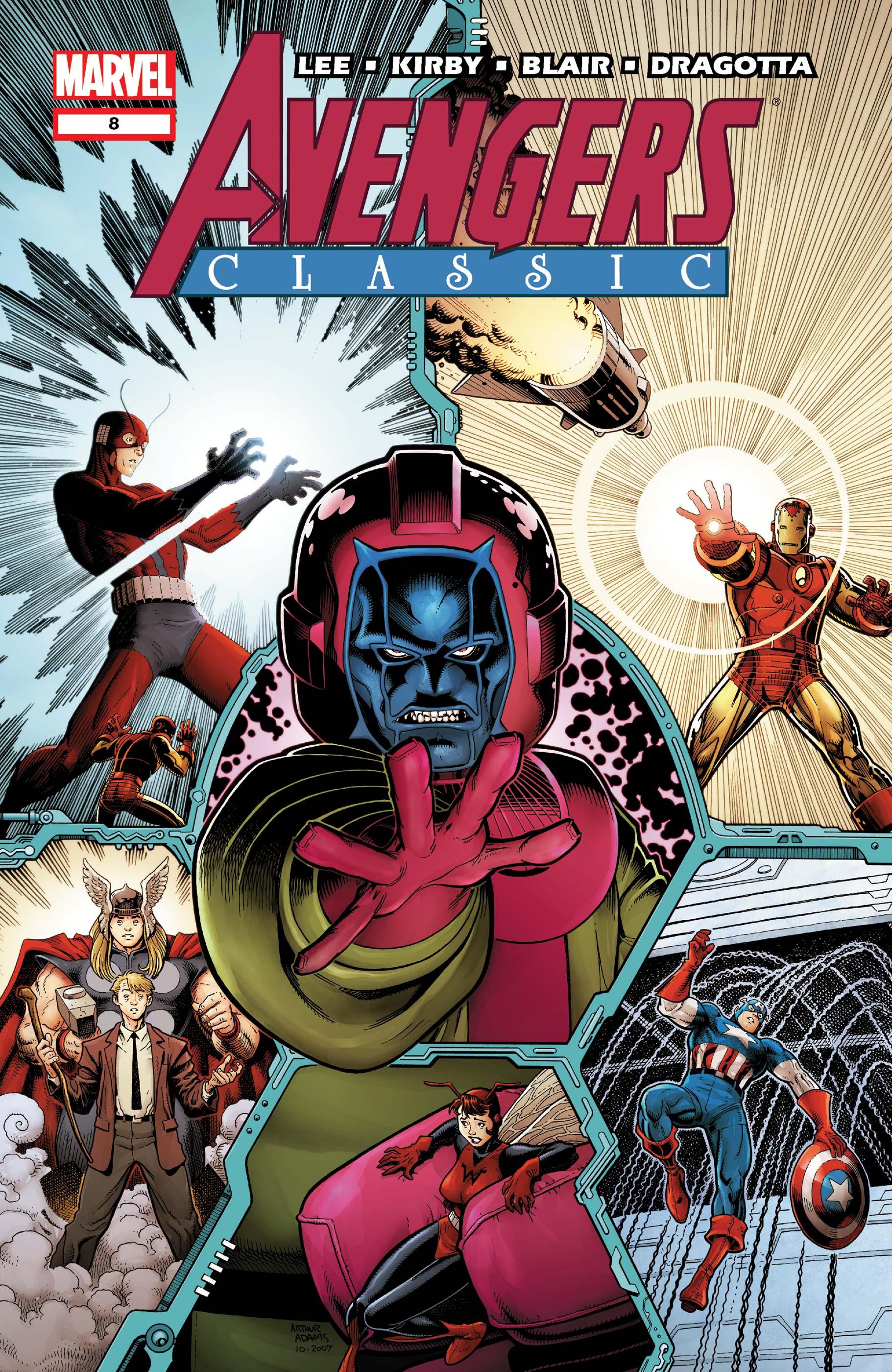 Avengers Classic (2007) #8