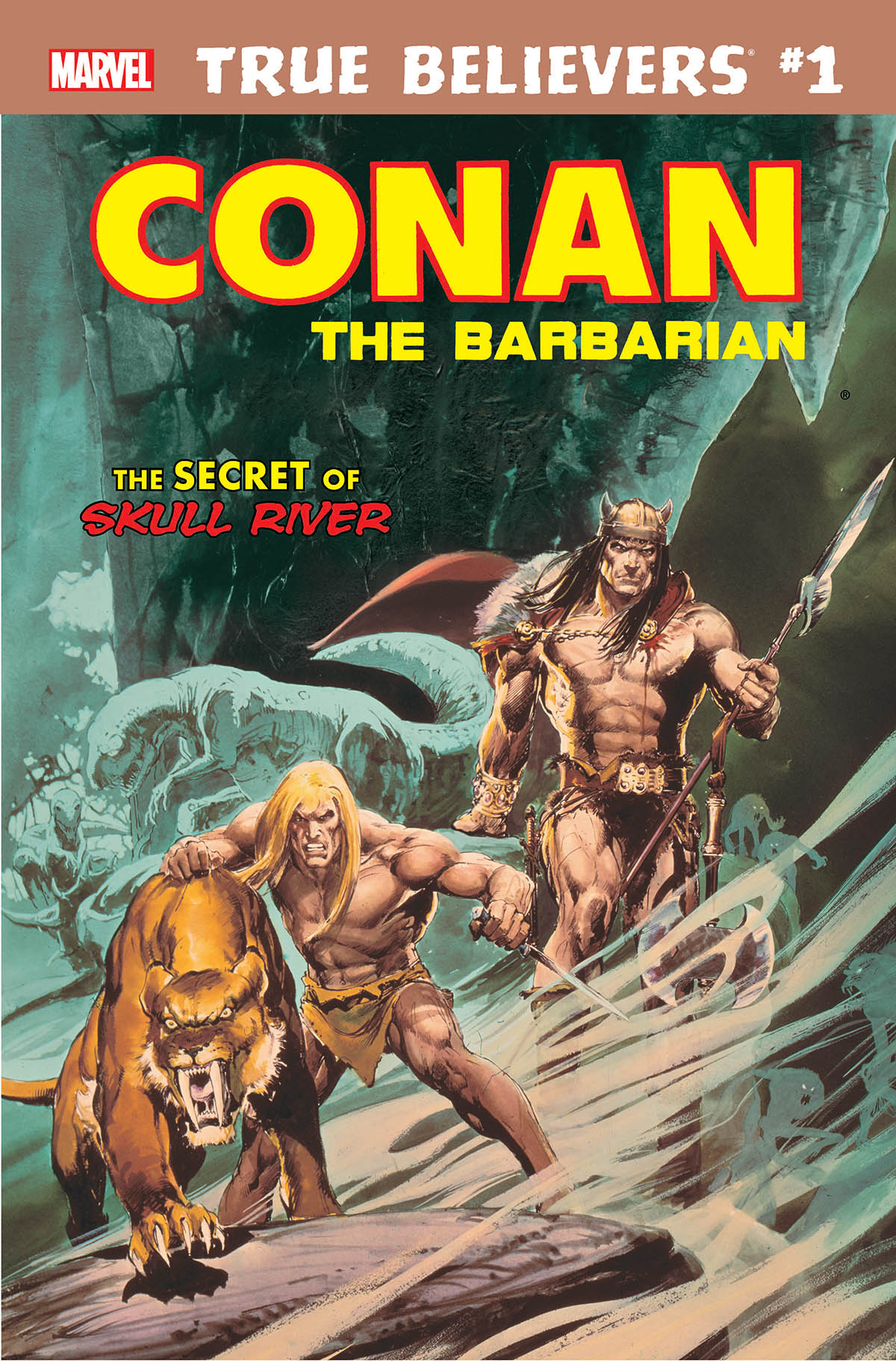 True Believers: Conan - The Secret of Skull River (2019) #1