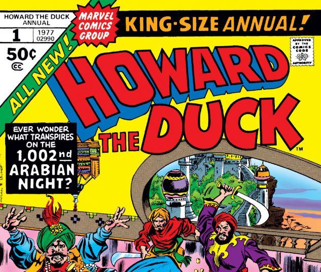 HOWARD THE DUCK ANNUAL (1977) #1