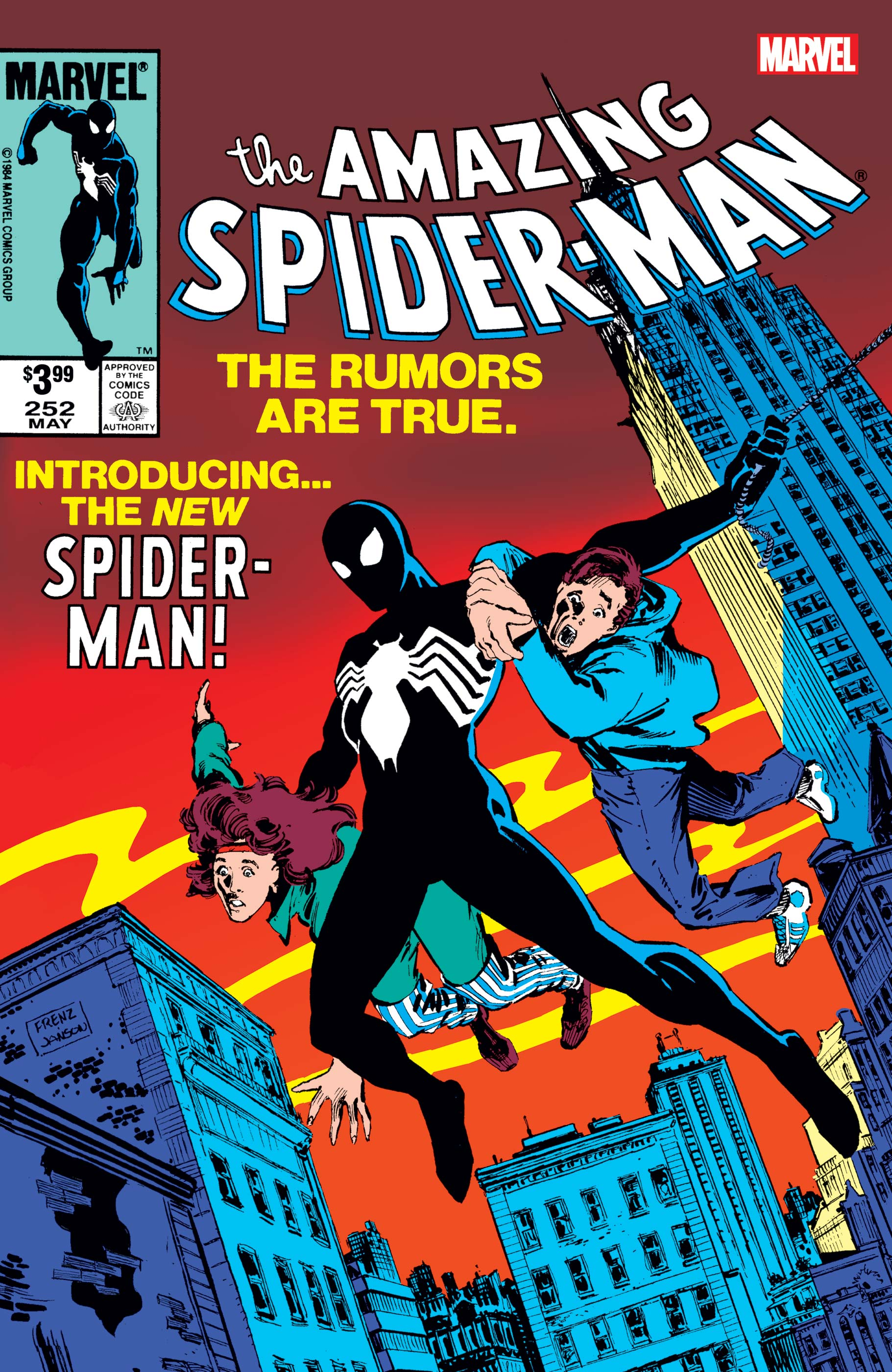 Amazing Spider-Man Facsimile Edition (2019) #252