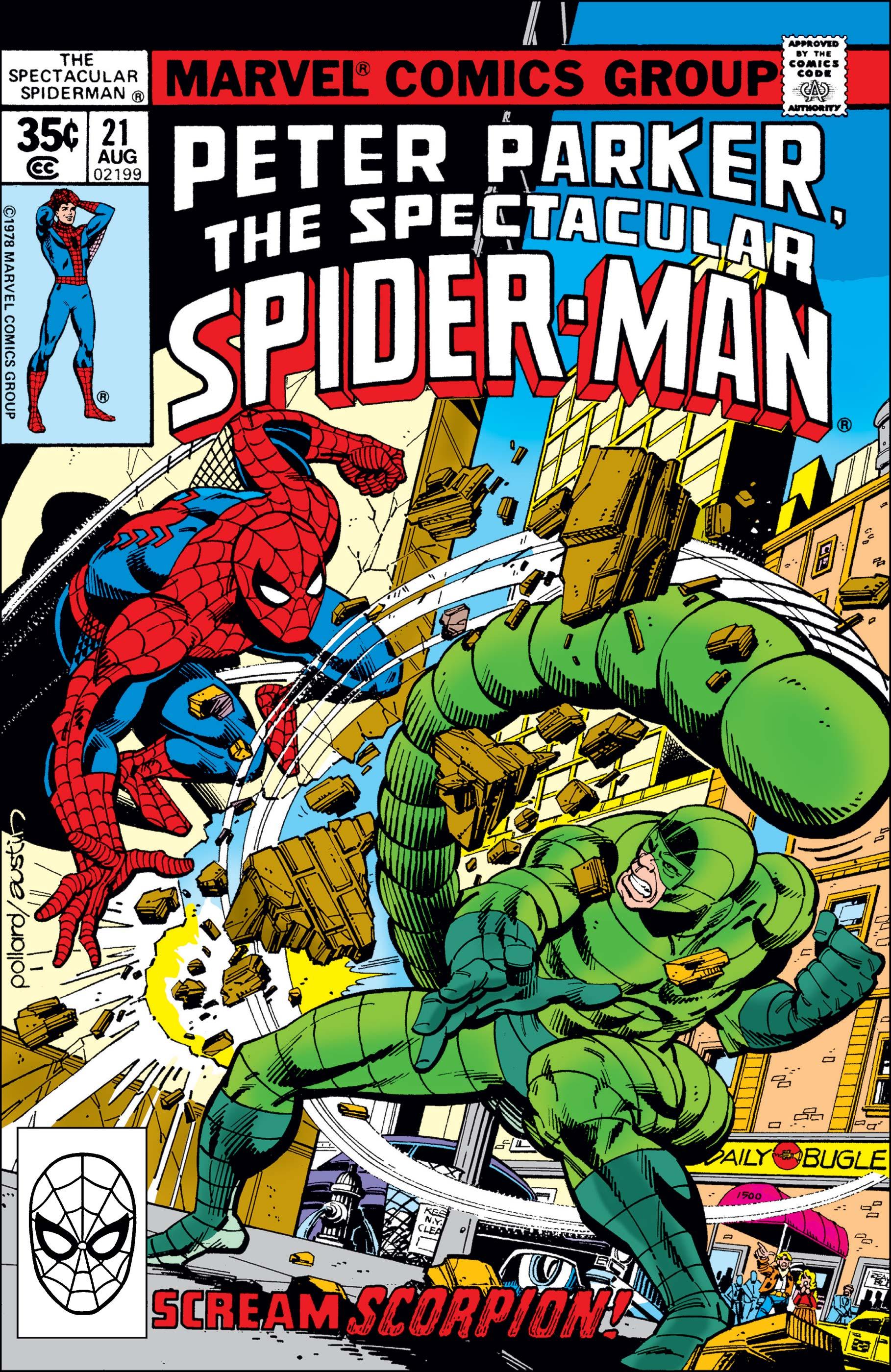 Peter Parker, the Spectacular Spider-Man (1976) #21