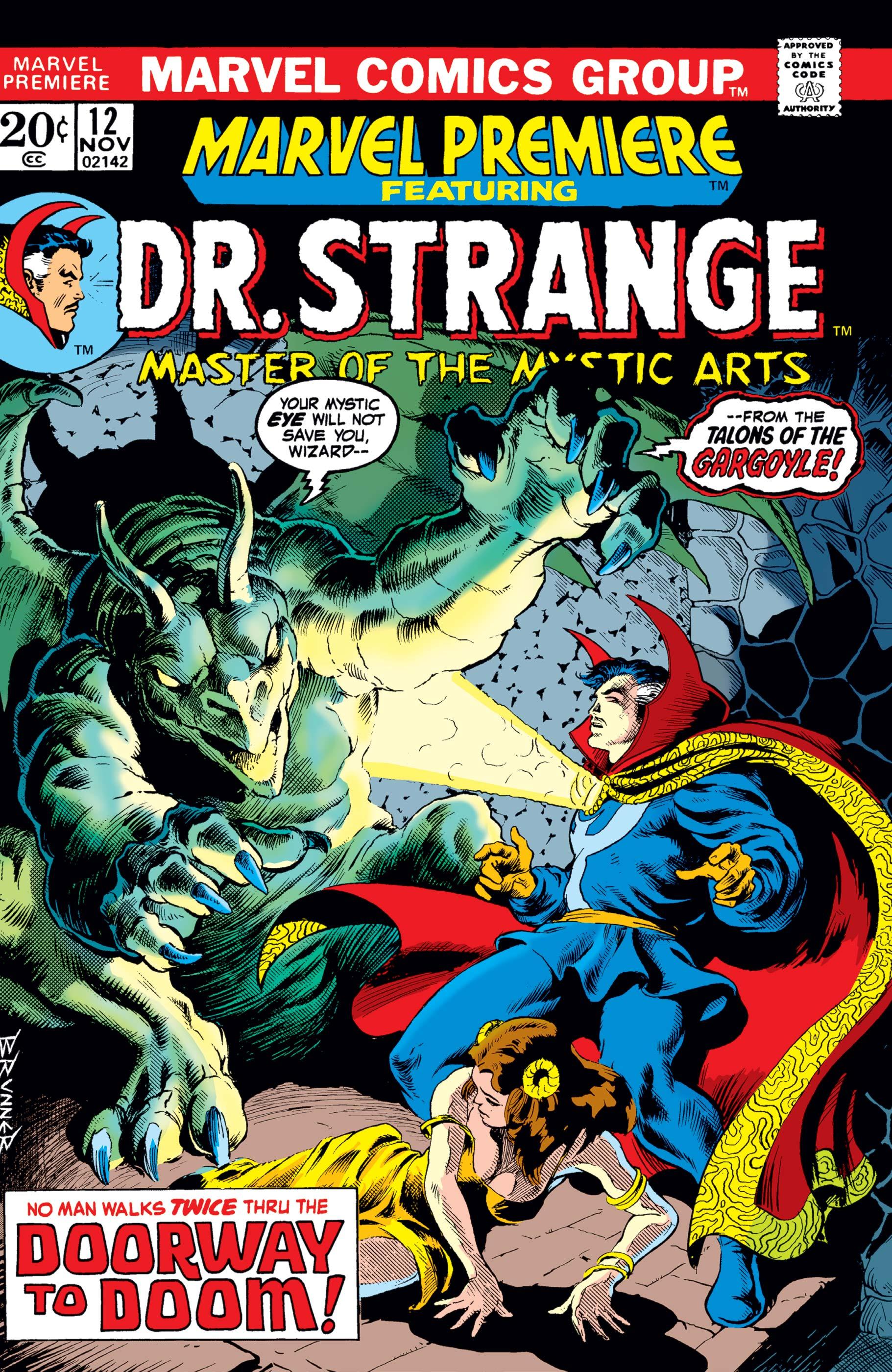 Marvel Premiere (1972) #12