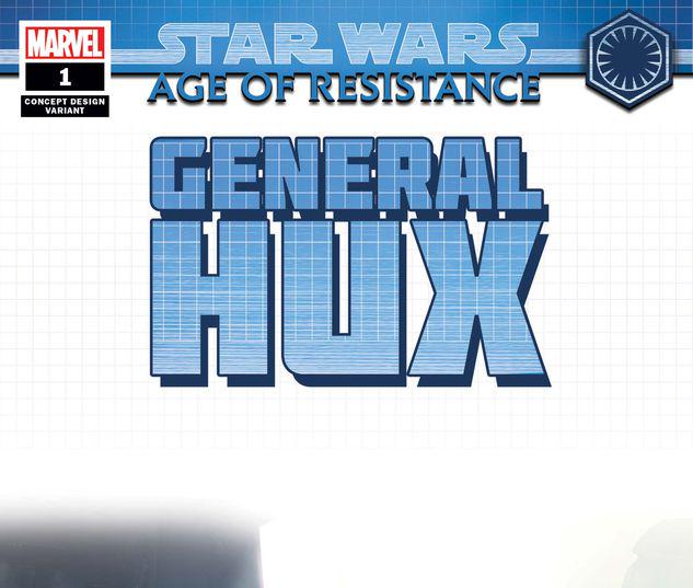 STAR WARS: AGE OF RESISTANCE - GENERAL HUX 1 CONCEPT VARIANT #1