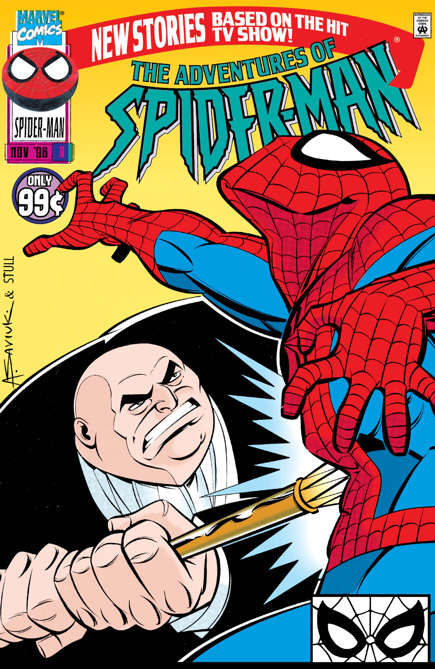 Adventures of Spider-Man (1996) #8