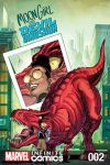 cover from Moon Girl and Devil Dinosaur Infinite Comic (2019)