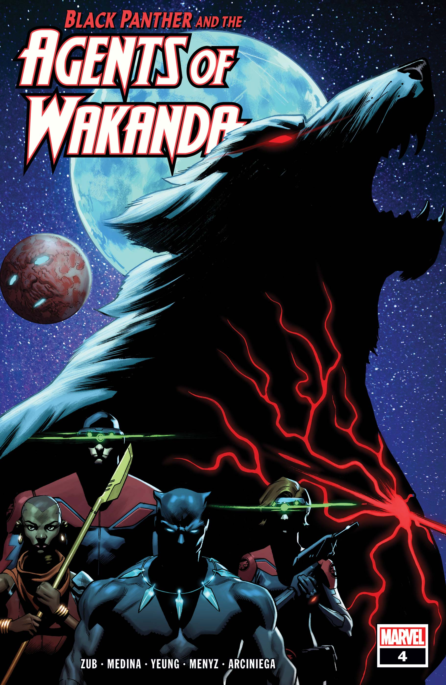 Black Panther and the Agents of Wakanda (2019) #4