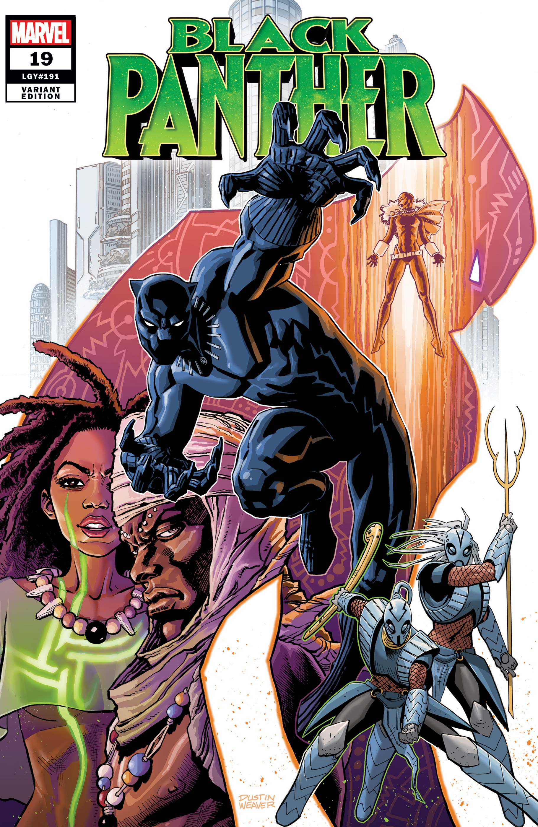 Black Panther (2018) #19 (Variant)
