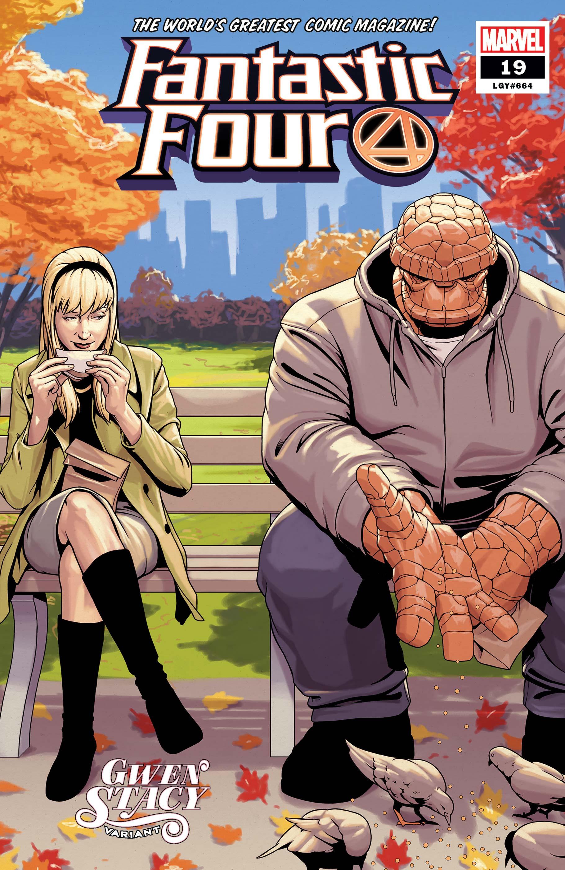 Fantastic Four (2018) #19 (Variant)