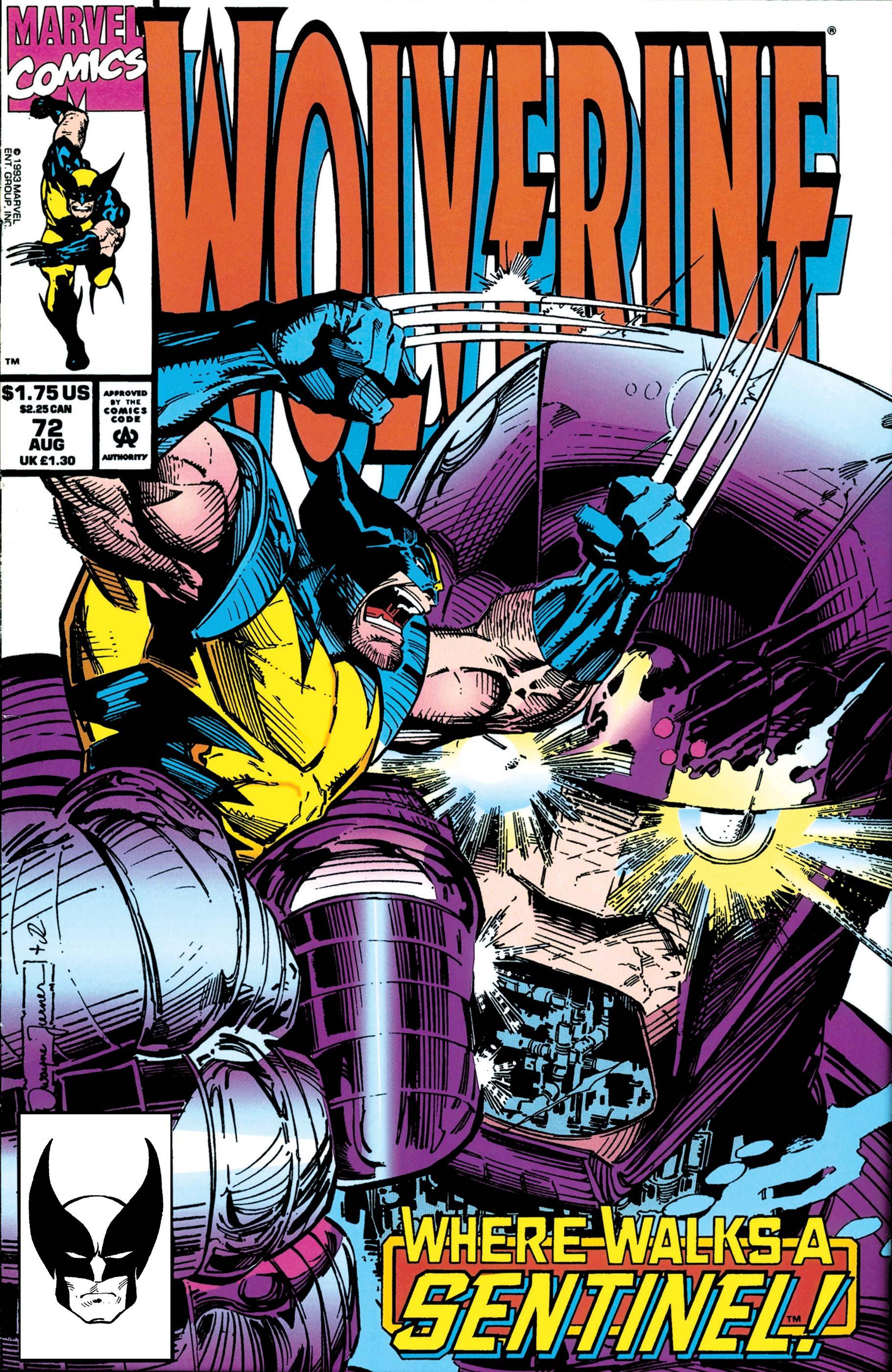 Wolverine (1988) #72