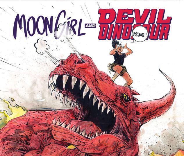 Moon Girl and Devil Dinosaur Infinite Comic #6