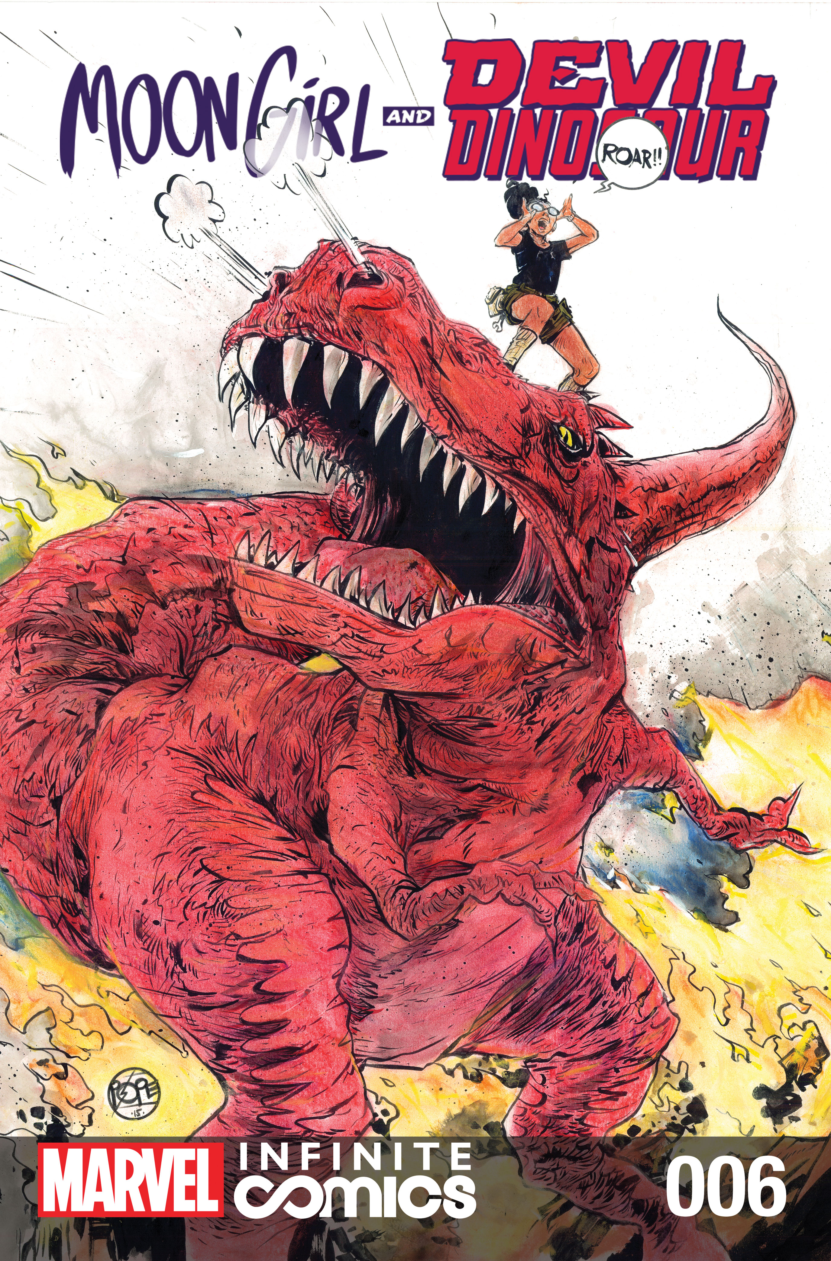 Moon Girl and Devil Dinosaur Infinite Comic (2019) #6