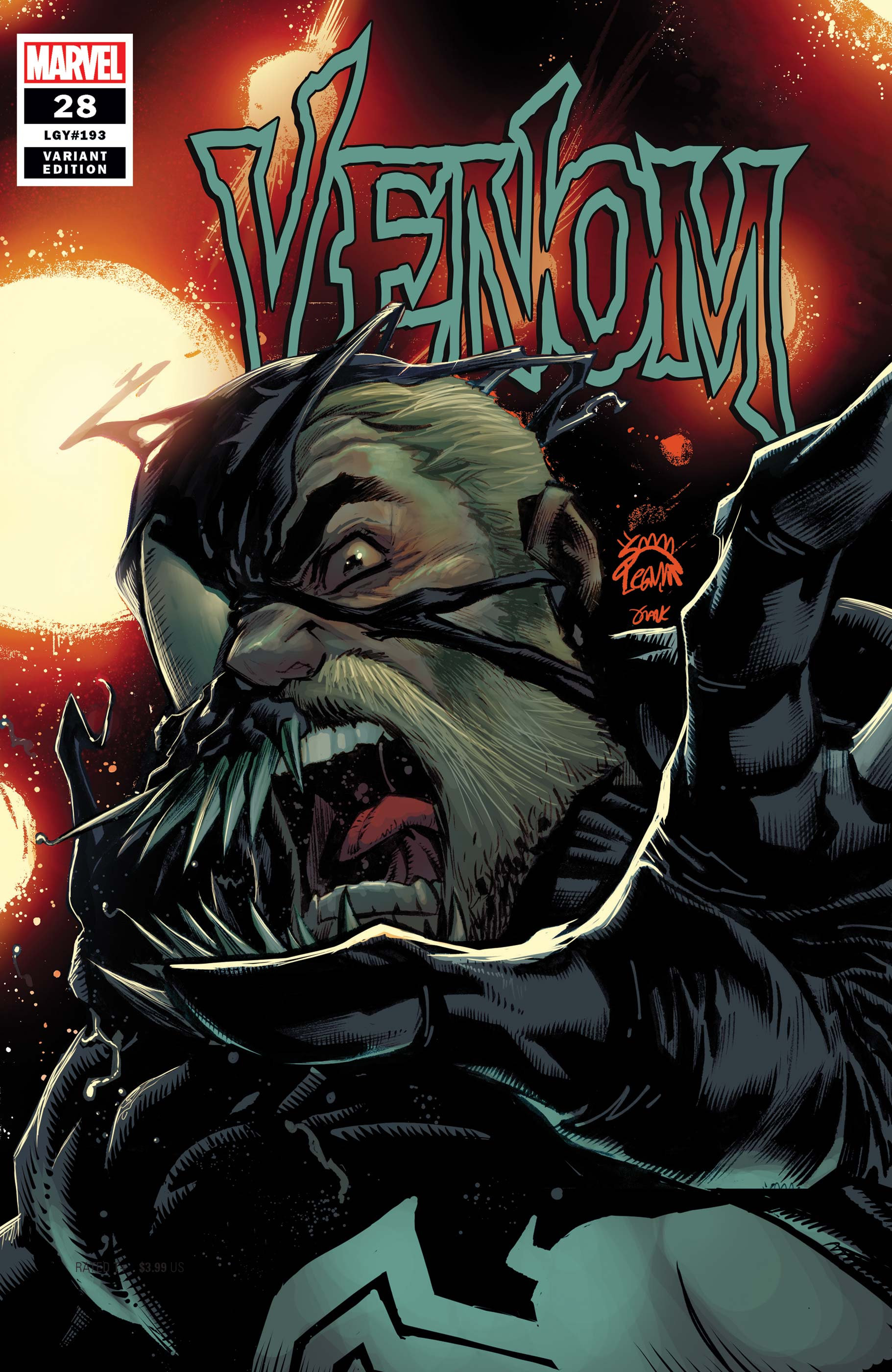 Venom (2018) #28 (Variant)