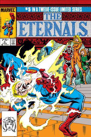 The Eternals (1985) #5