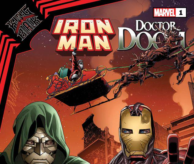 KING IN BLACK: IRON MAN/DOOM 1 #1