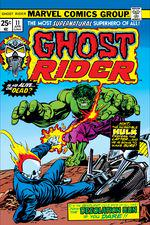 Ghost Rider (1973) #11 cover