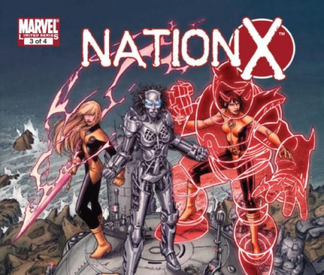 NATION X #3  Cover by Dustin Weaver