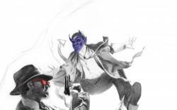 X-MEN NOIR: MARK OF CAIN #1 (CALERO VARIANT)
