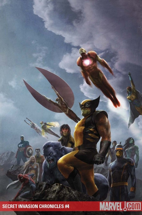 Secret Invasion Chronicles (2009) #4