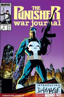 Punisher War Journal (1988) #8