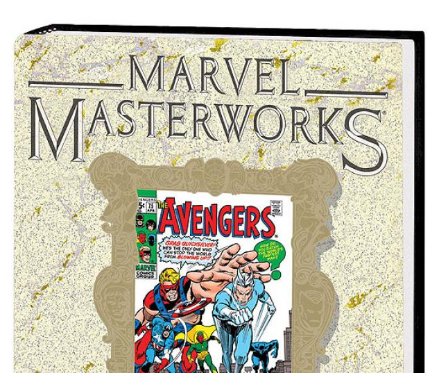 MARVEL MASTERWORKS: THE AVENGERS VOL. 8 HC #0