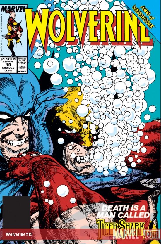 Wolverine (1988) #19