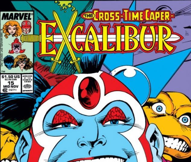EXCALIBUR (2009) #15 COVER