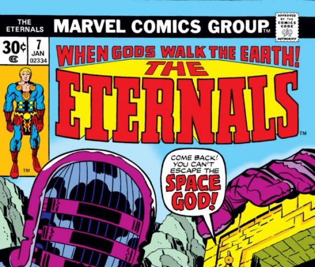 ETERNALS #7 COVER