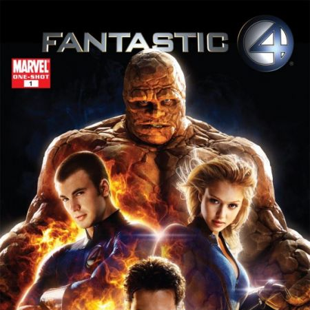 FANTASTIC FOUR: THE MOVIE (1961) #1 COVER