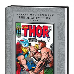 MARVEL MASTERWORKS: THE MIGHTY THOR VOL. 4 COVER