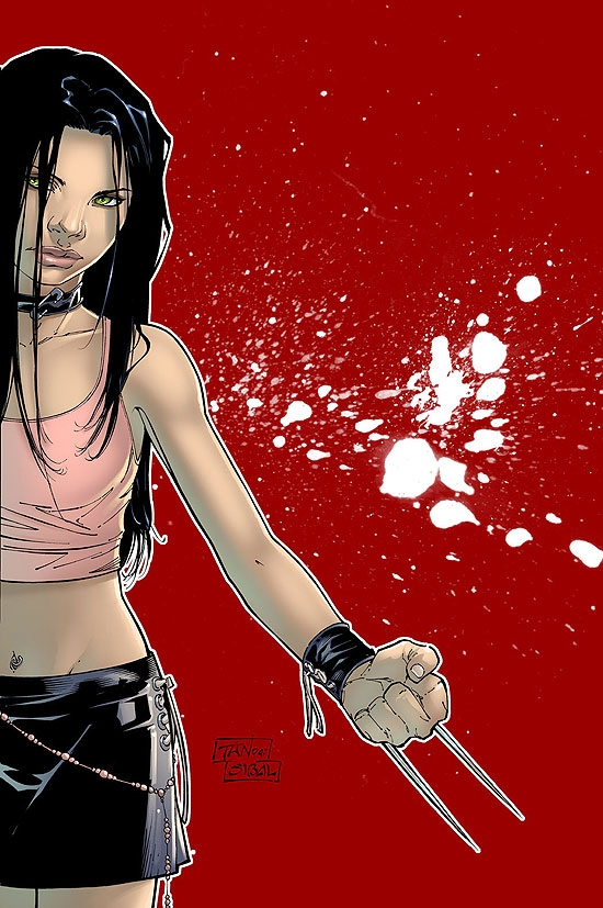 X-23 (2005) #1 (2nd Printing Variant Cover)