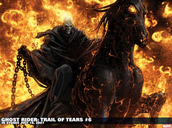 Ghost Rider: Trail of Tears (2007) #6 Wallpaper