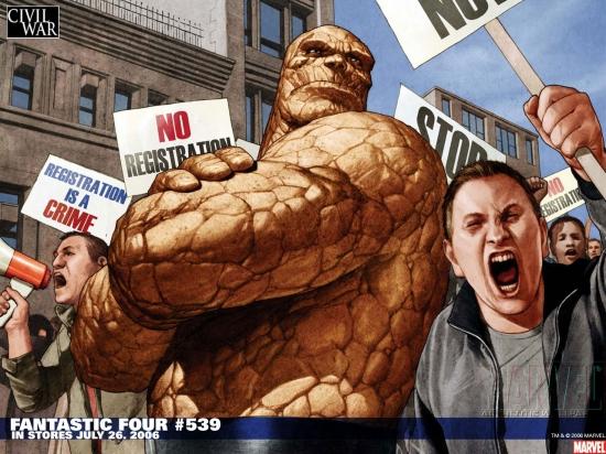 Fantastic Four (1998) #539 Wallpaper
