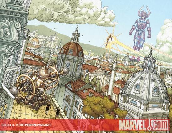 S.H.I.E.L.D. (2010) #1 (3RD PRINTING VARIANT)