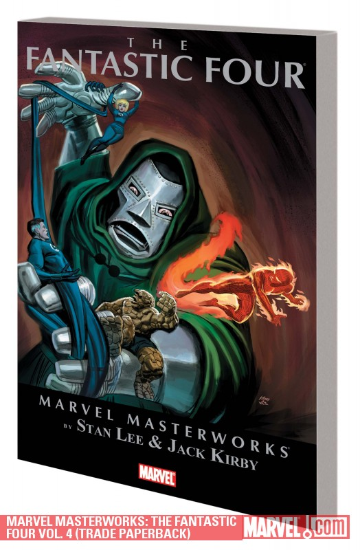 Marvel Masterworks: The Fantastic Four Vol. 4 (Trade Paperback)