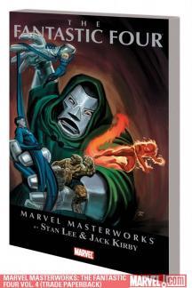 Marvel Masterworks: The Fantastic Four Vol. 4 (Trade Paperback)